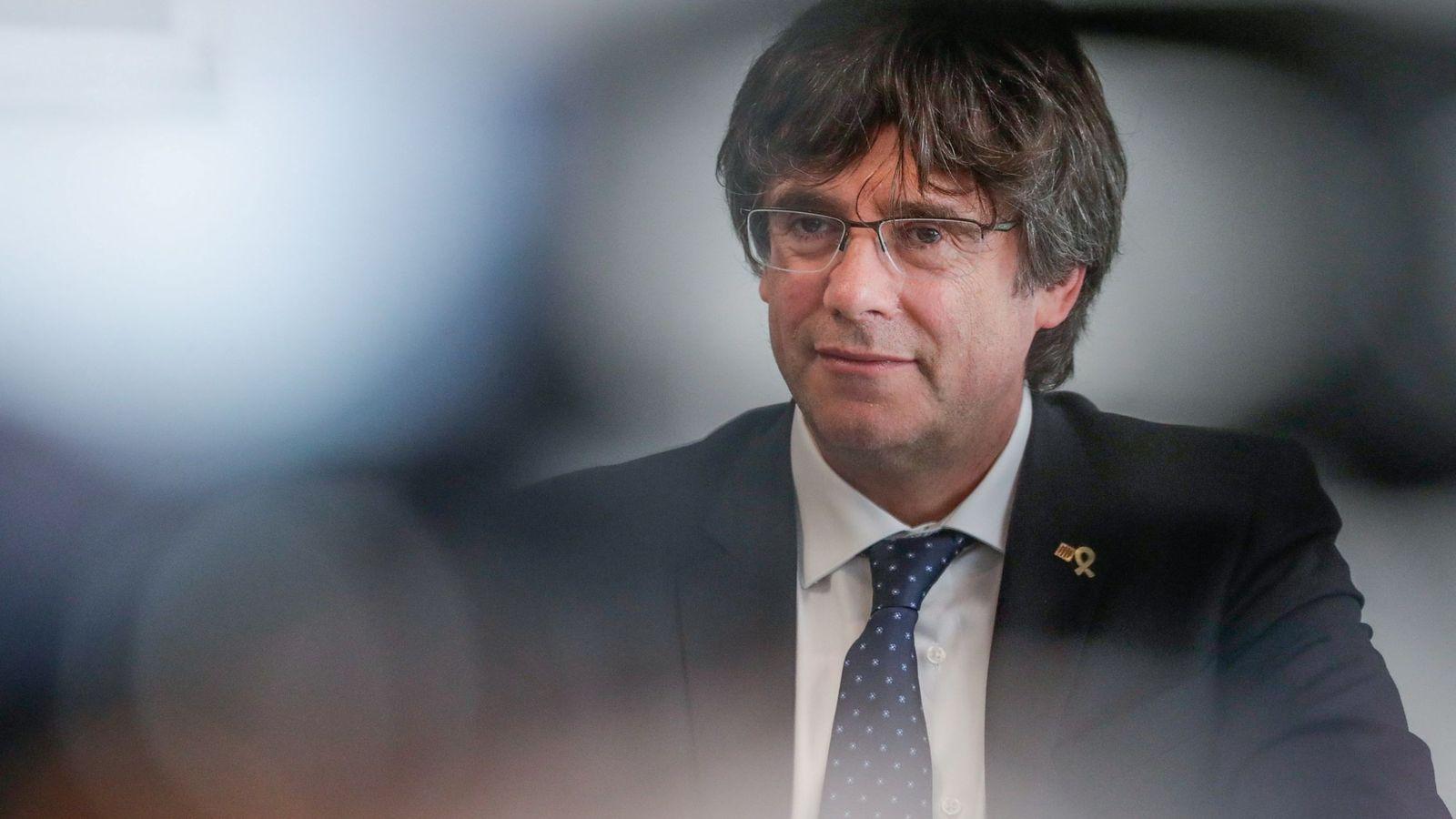Foto: Puigdemont en Bruselas el pasado 4 de septiembre. (Reuters)