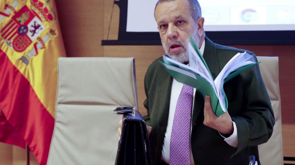 Foto: El Defensor del Pueblo, Francisco Fernández Marugán. (EFE)