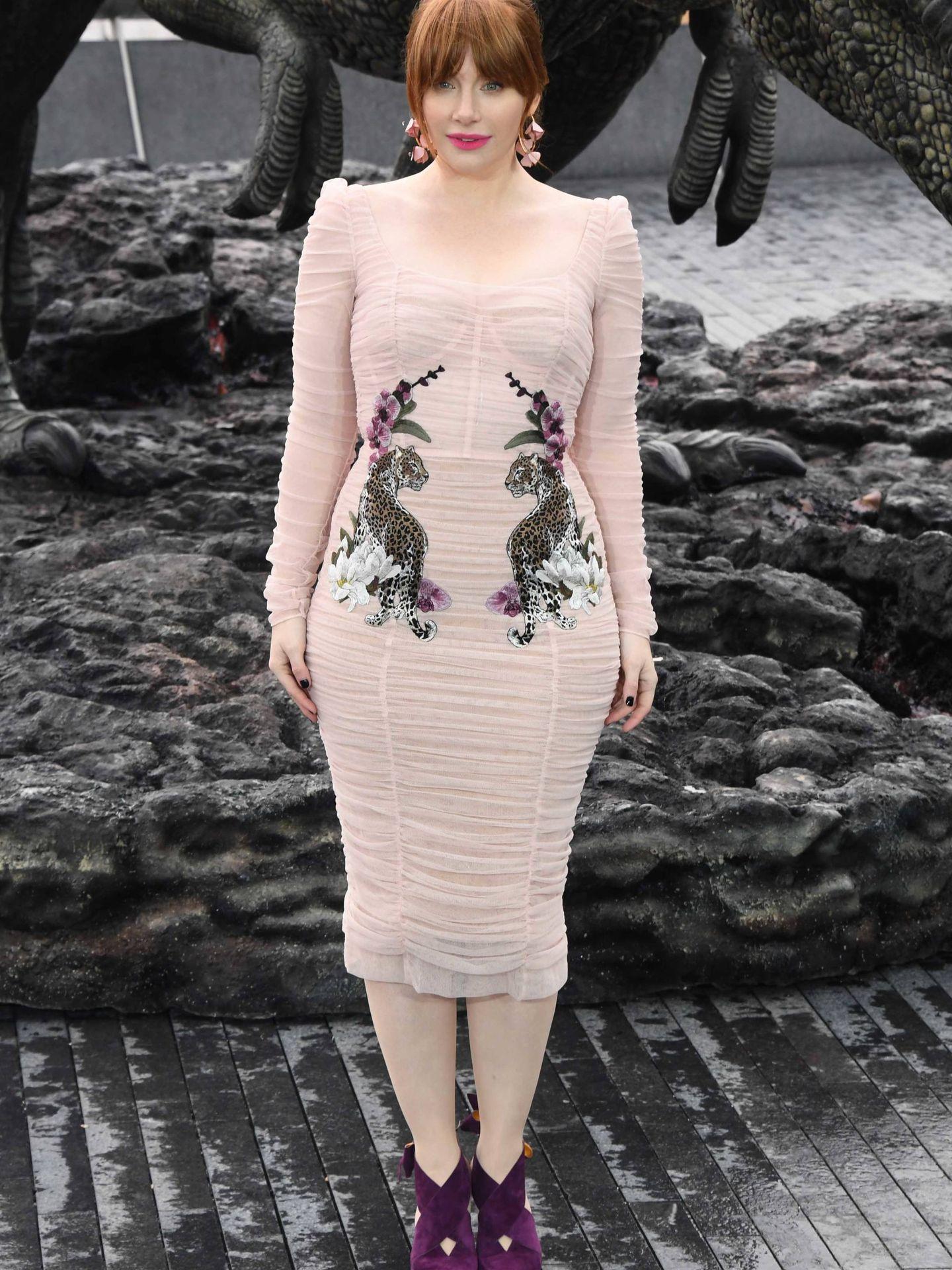 Bryce Dallas Howard vestida de Dolce & Gabbana.