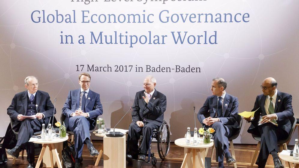Foto: Reunión de los ministros de finanzas y gobernadores de bancos centrales del g20. (Efe)