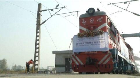 Se estrena el primer tren que unirá el centro de China con Europa