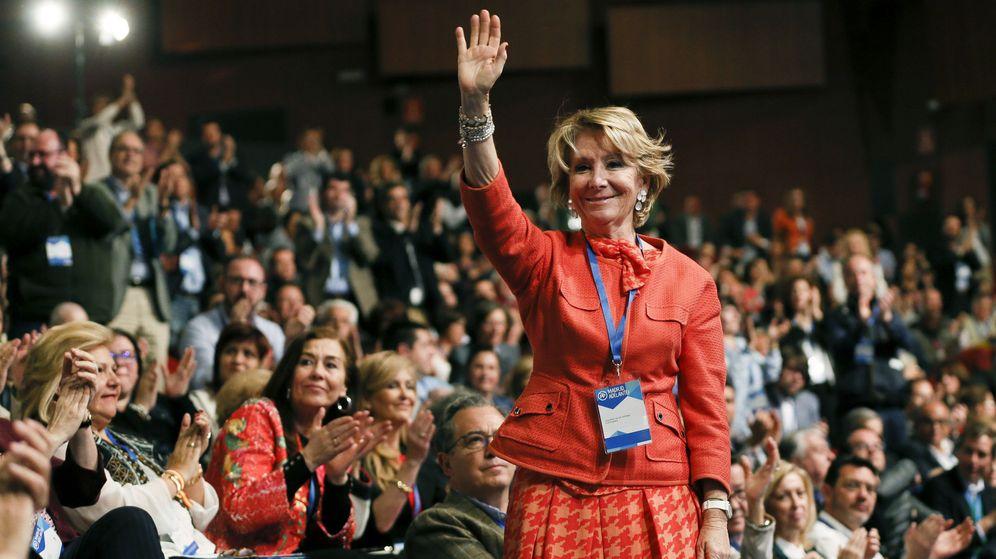 Foto: La expresidenta regional del PP y de la Comunidad de Madrid Esperanza Aguirre. (EFE)