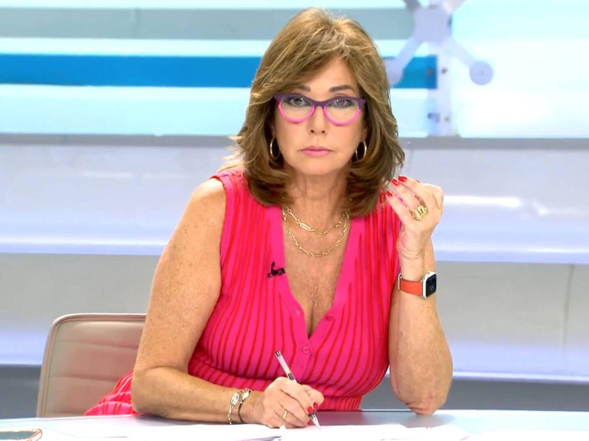 Foto: Ana Rosa Quintana, en 'El programa de AR'. (Mediaset)