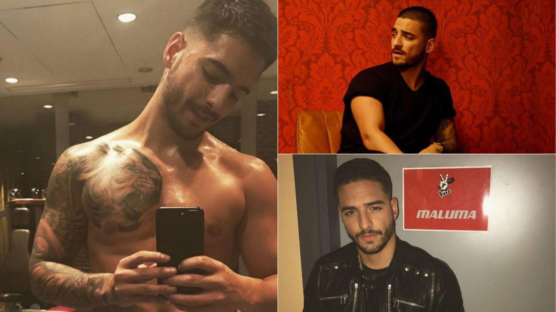 Maluma en algunas de sus fotografías de Instagram