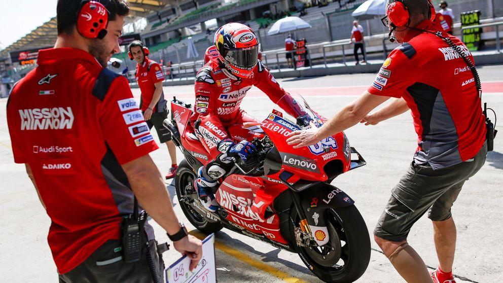 Cómo Ducati utiliza a sus pilotos para dar piezas y privilegios a Dovizioso