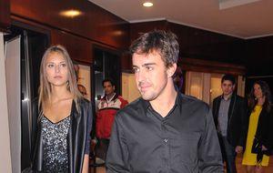 Lara Álvarez viaja a Italia invitada por el piloto Fernando Alonso