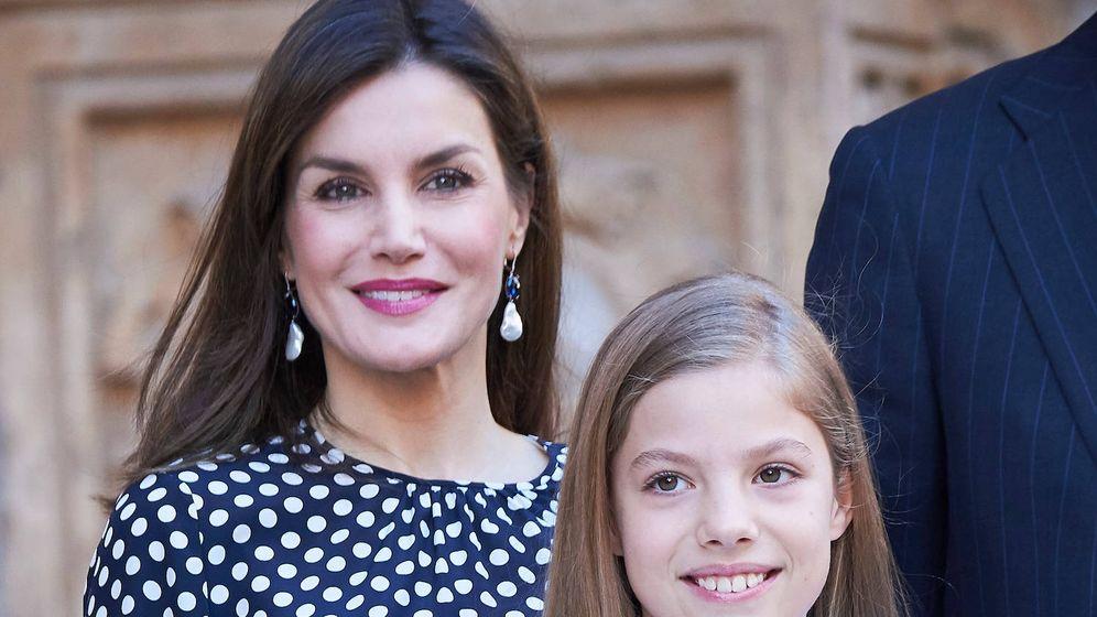 Foto:  Letizia y la infanta Sofía. (Limited Pictures)