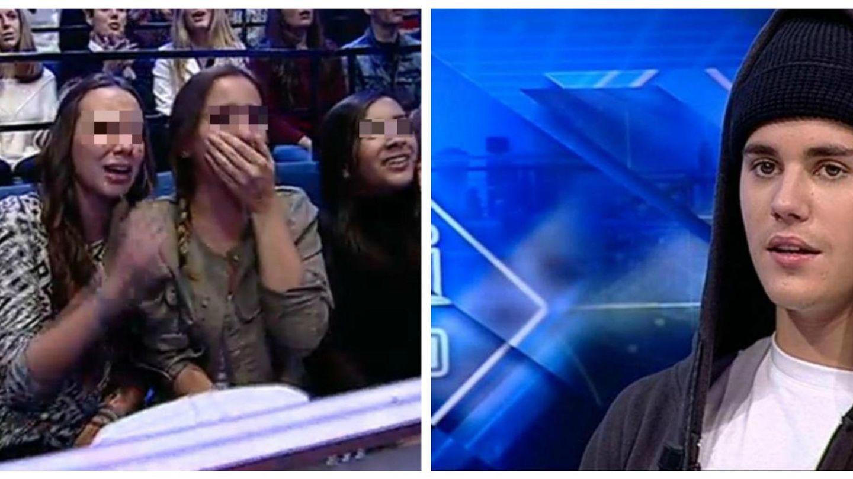 Andreíta, la hija de Belén Esteban, se cuela en 'El Hormiguero' y llora por Justin Bieber