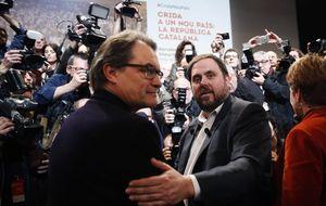 """ERC abre la puerta a un pacto con Mas para hacer """"plebiscitarias"""""""