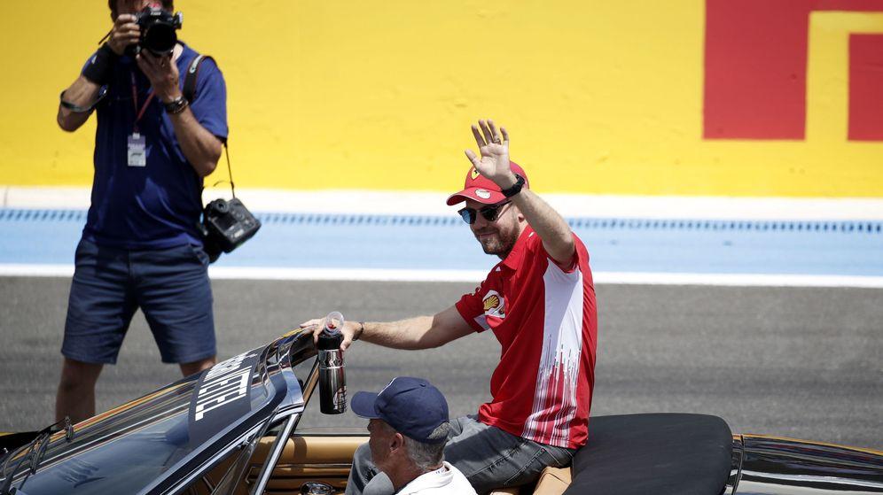 Foto: Sebastian Vettel, en el pasado Gran Premio de Francia. (EFE)