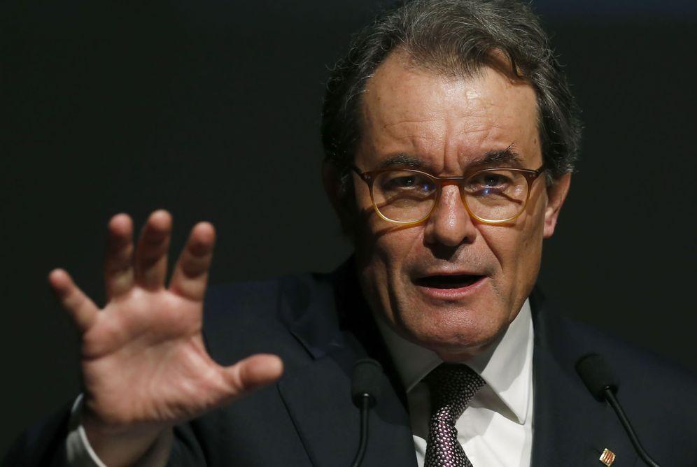 Foto: Conferencia de Artur Mas. (EFE)