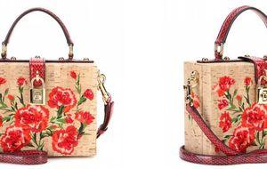 Un bolso de corcho glamouroso