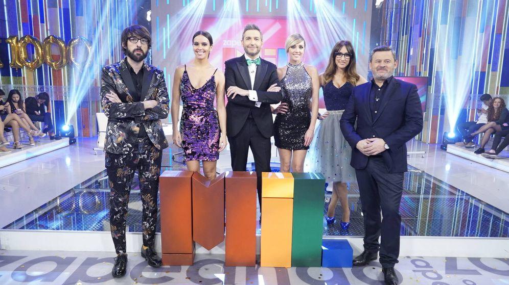 Foto: Equipo principal de 'Zapeando'. (Globomedia)
