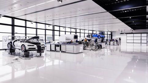 Así se fabrica el Bugatti Chiron, el coche más caro, potente y exclusivo del mundo