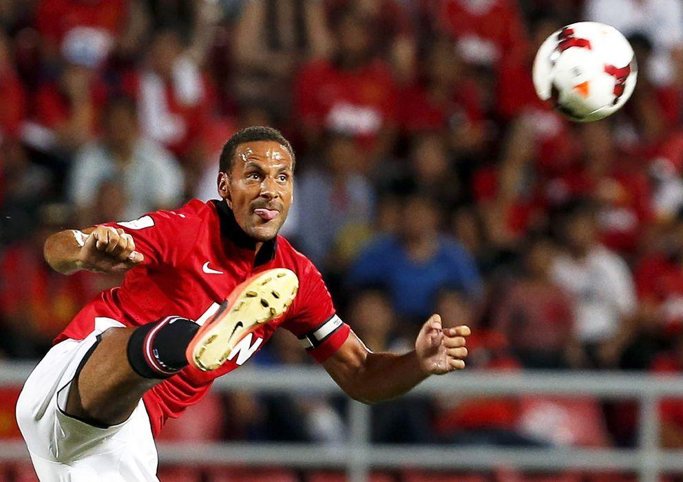 Foto: Rio Ferdinand, en un partido con el Manchester United de la presente temporada.