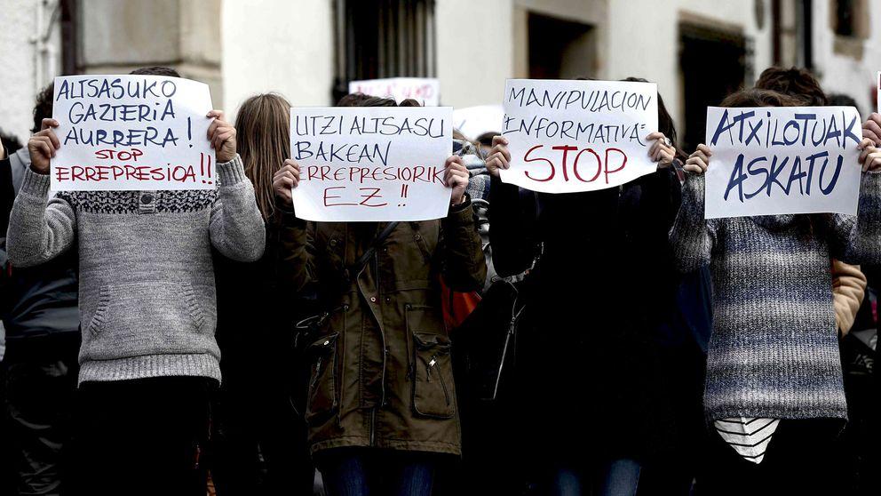 Guardias civiles tildan de traición la postura de Podemos con Alsasua