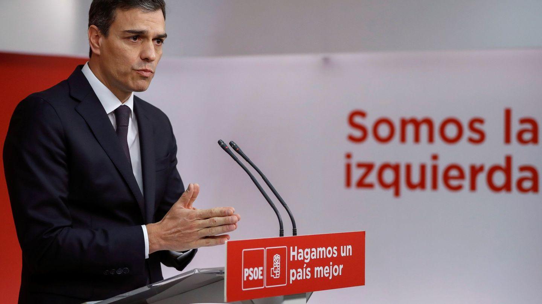El líder socialista, en mayo del año pasado. (EFE)