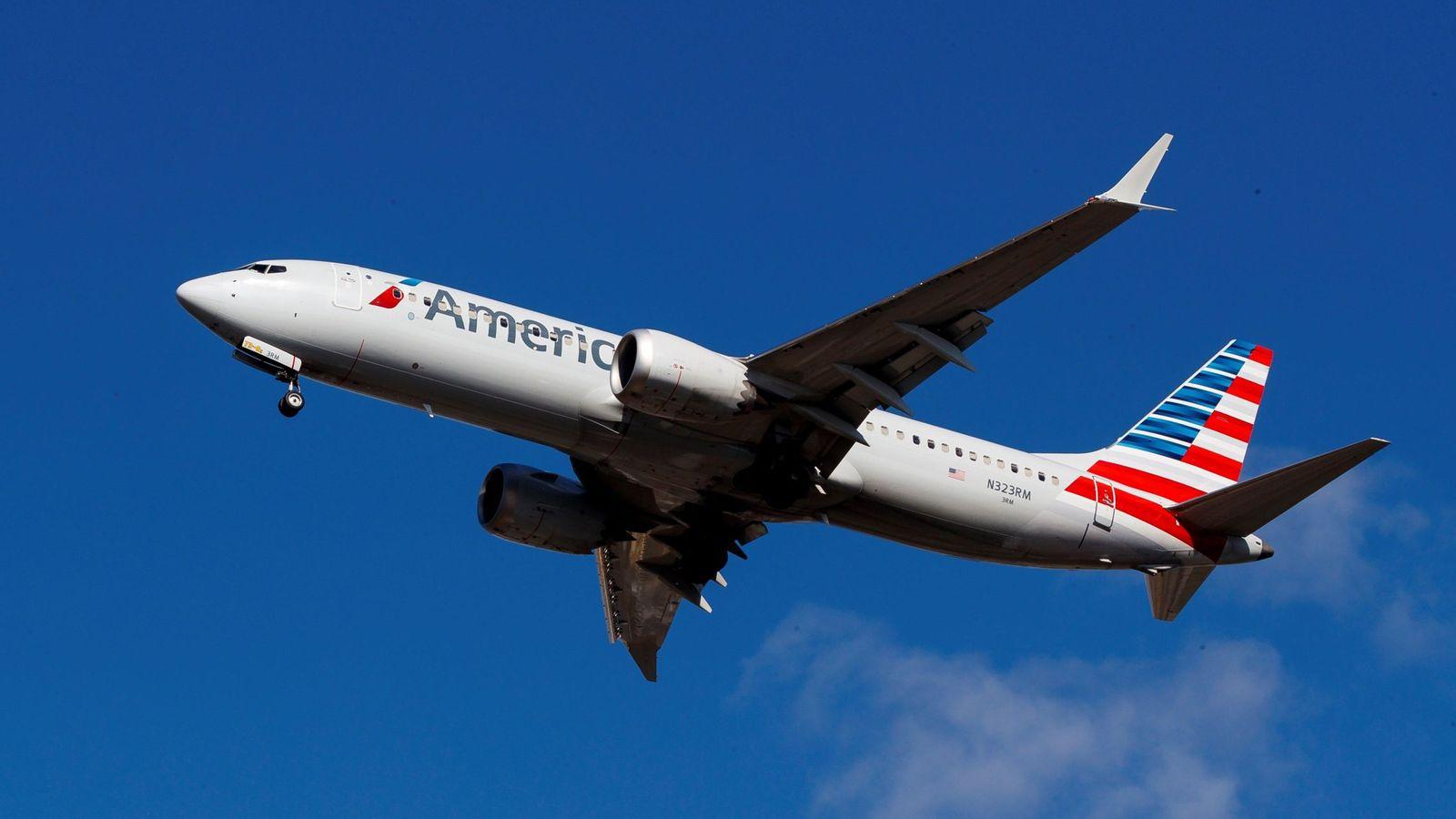 Foto: Un avión de American Airlines. (EFE)