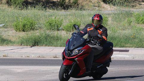 Kymco Super Dink 350 ABS, un 'scooter' GT de alta gama