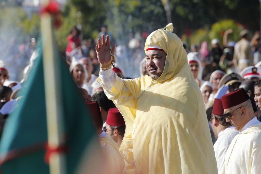Foto: Mohamed VI, durante una celebración en Rabat, en 2014. (AP)