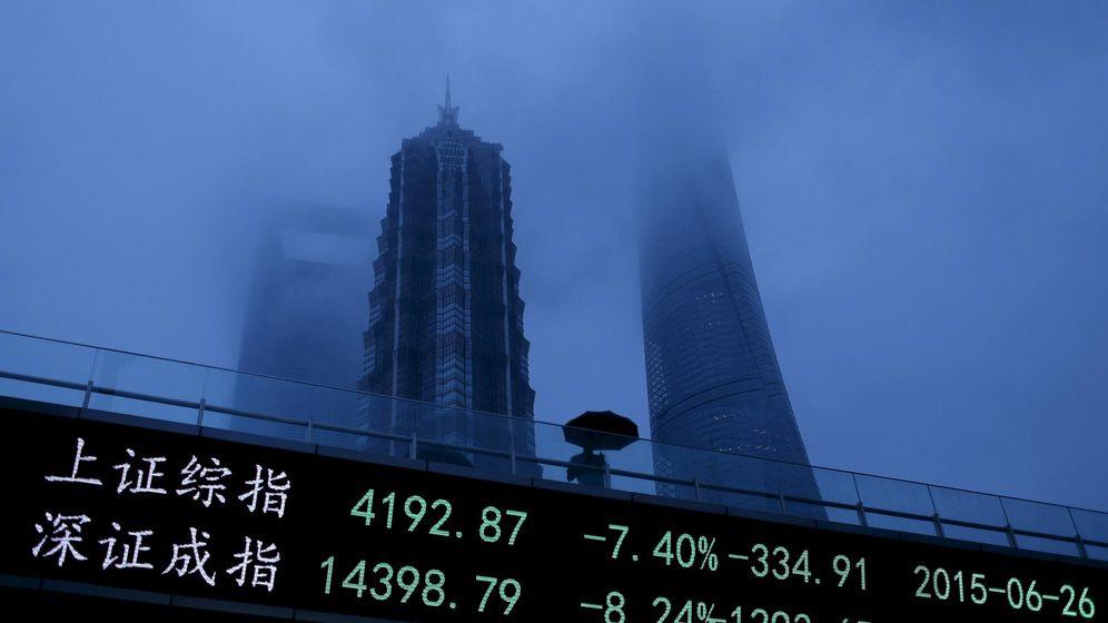 Foto: Distrito financiero de Pudong en Shanghai, China. (Foto: Reuters)