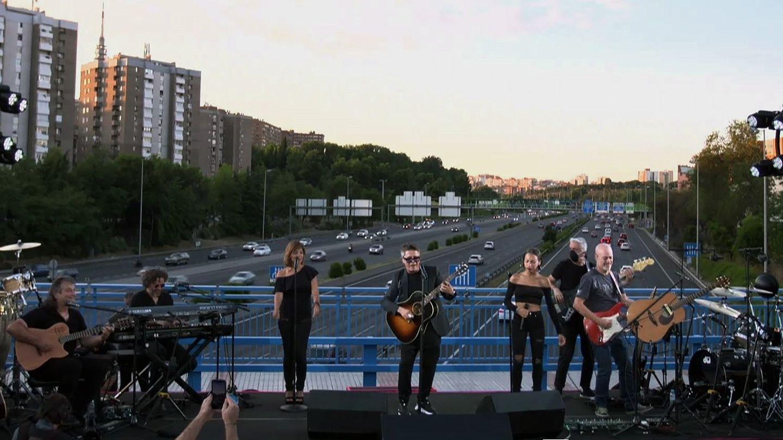 El concierto sorpresa de Alejandro Sanz del pasado domingo. (EFE)