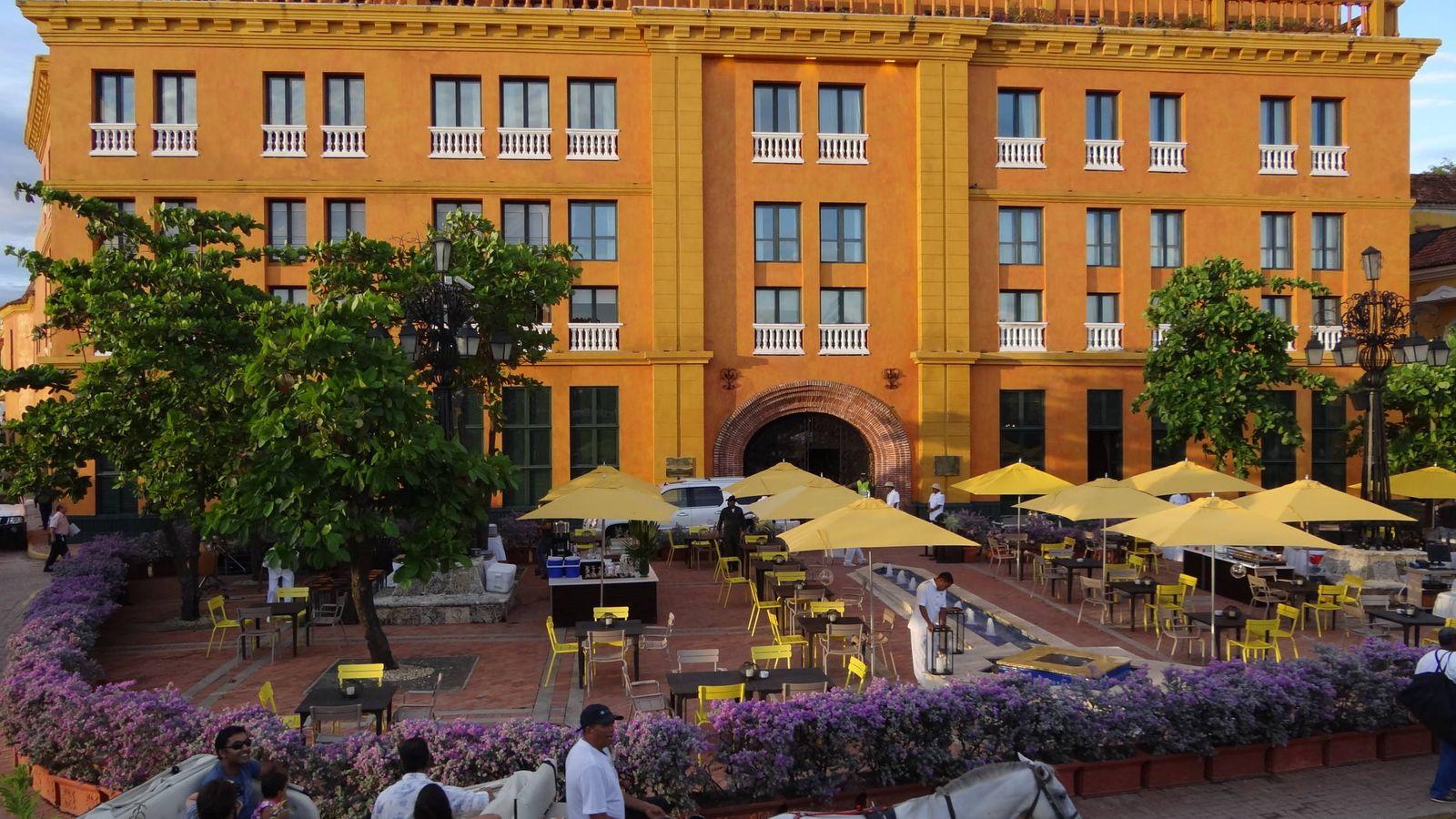Foto: Hotel Charleston de Cartagena de Indias, cinco estrellas. (Wikipedia)