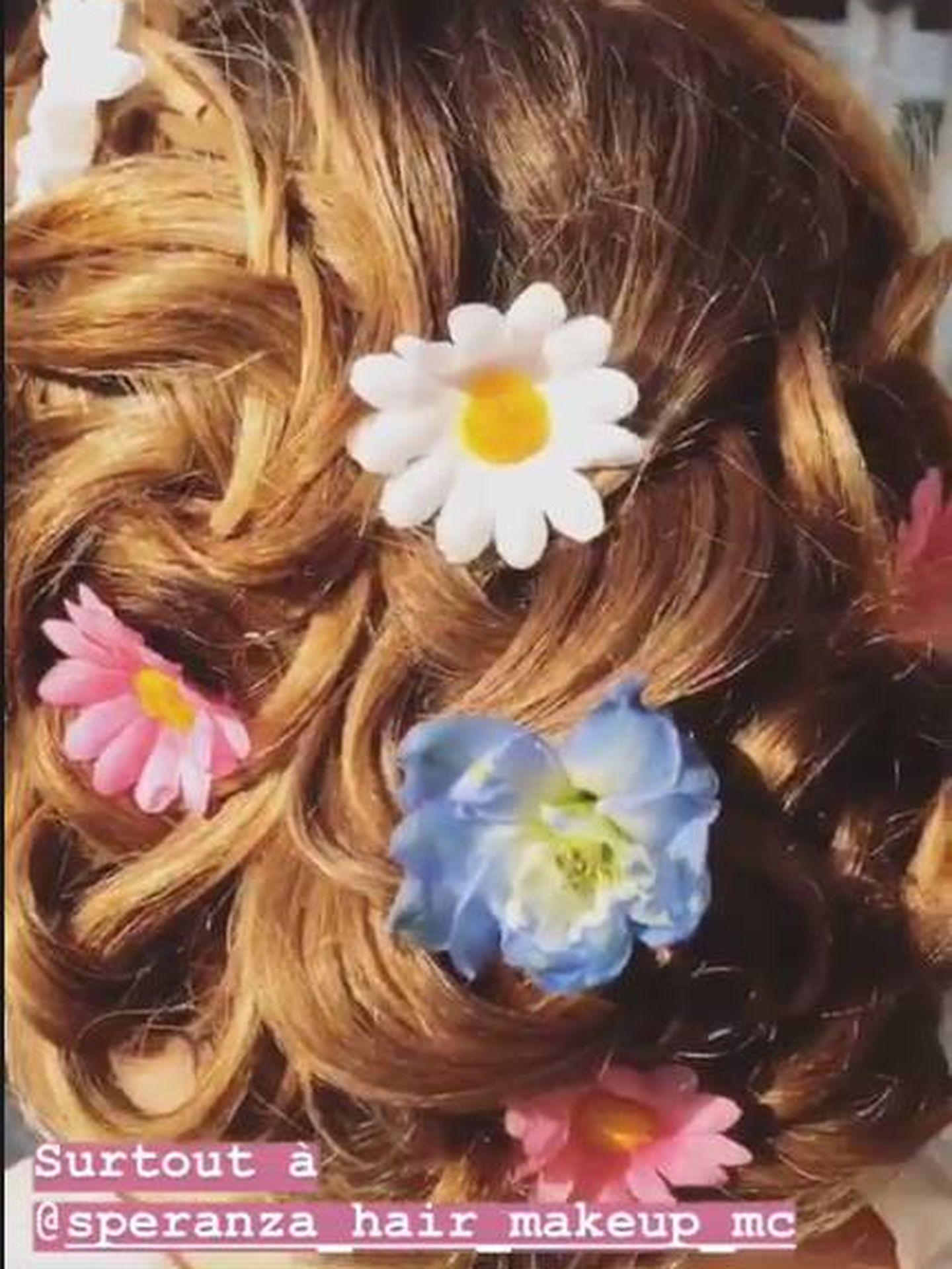 El peinado de Camille. (IG)