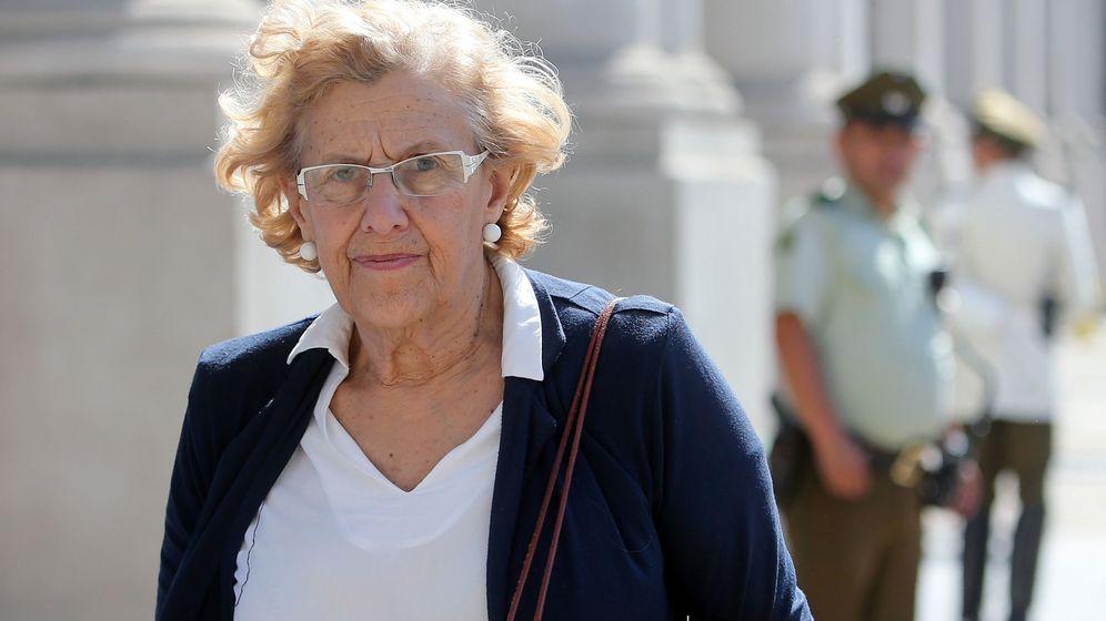 Foto: La alcaldesa de Madrid, Manuela Carmena. (EEF)