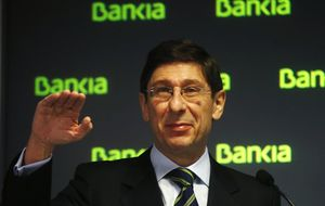 Bankia acumula un alza del 27% en lo que va de año tras subir otro 2,8%
