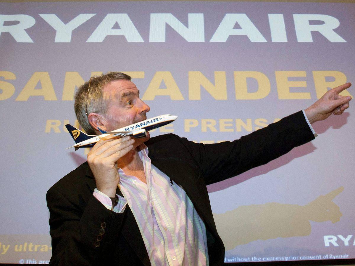 Foto: El presidente de Ryanair, Michael O'Leary. (EFE)