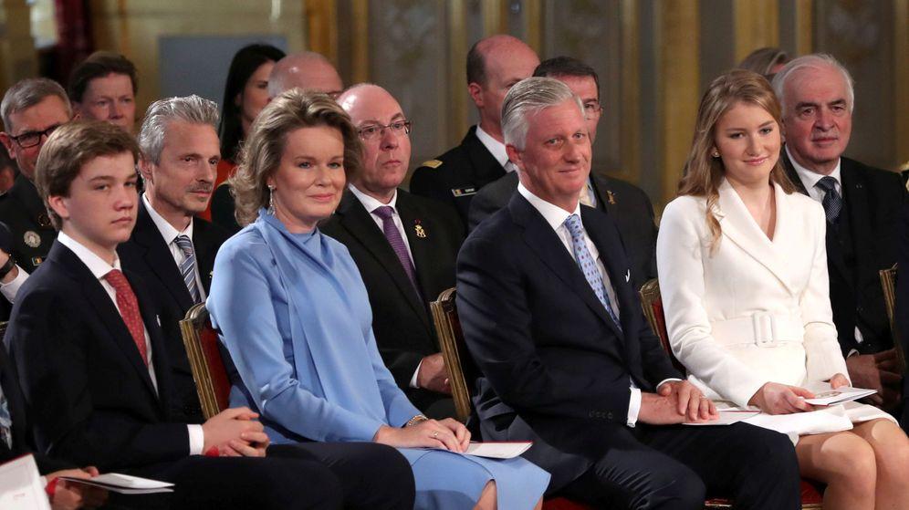 Foto: La princesa Elisabeth, durante su fiesta de cumpleaños. (Reuters)