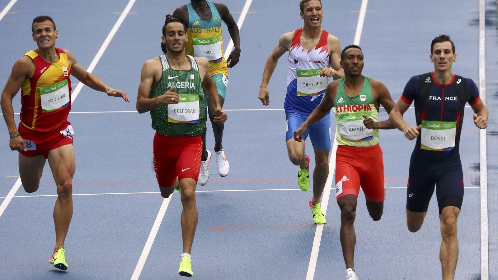 Foto: Athletics - men's 800m round 1
