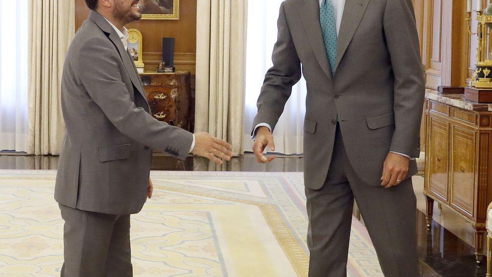 Garzón transmite al Rey que su discurso tras el referéndum fue un error