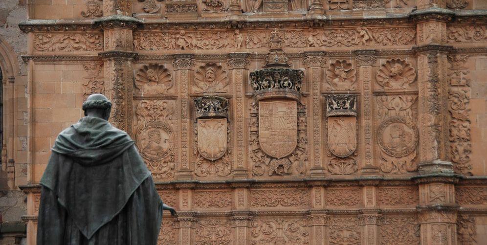 Foto: Sí, es la fachada de la Universidad de Salamanca. (EC)