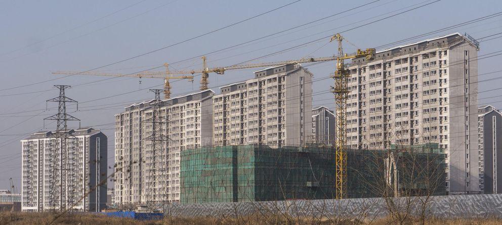 Foto: Imagen de varias viviendas en construcción (EFE)