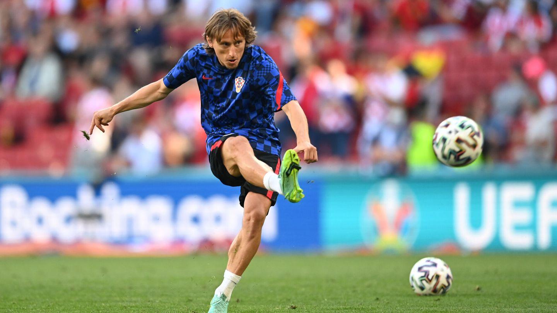 Modric, la gran estrella croata. (Reuters)