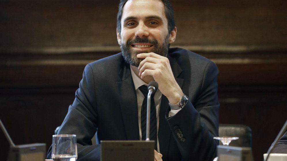 Foto: - El presidente del Parlament, Roger Torrent. (EFE)