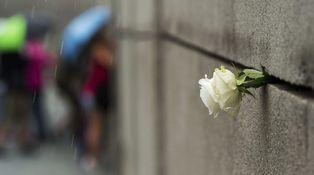 Los escombros del Muro de Berlín
