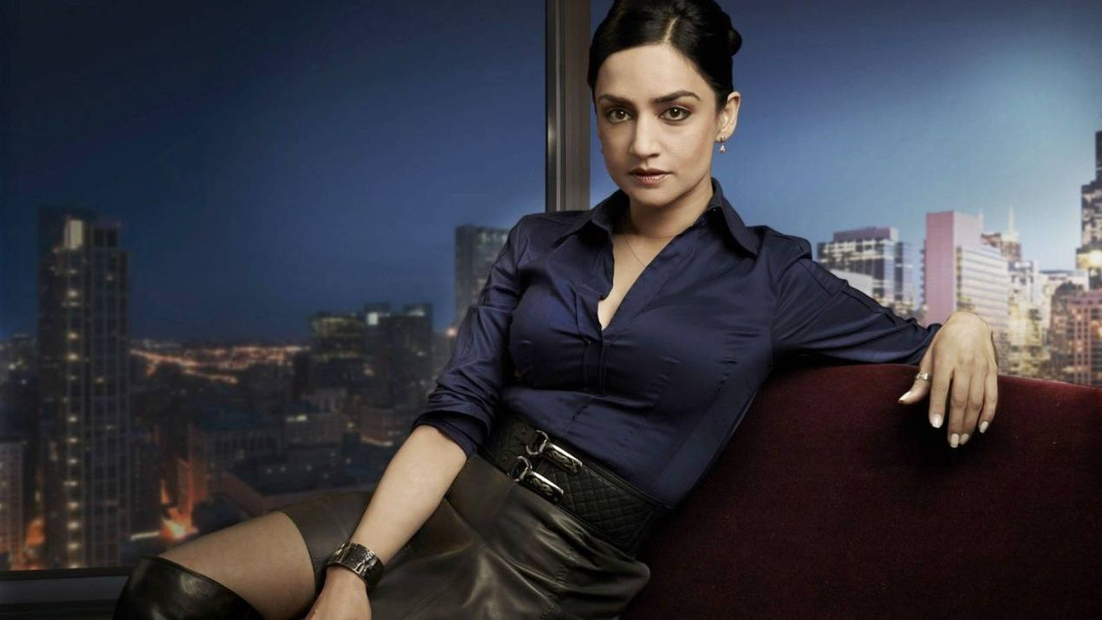 Foto: Archie Panjabi en 'The Good Wife'. (CBS Television Studios)
