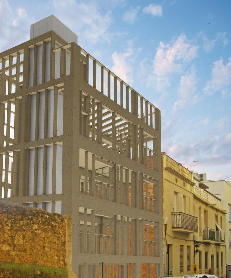 Vivienda arranca la construcci n del edificio con Empresas de construccion en barcelona