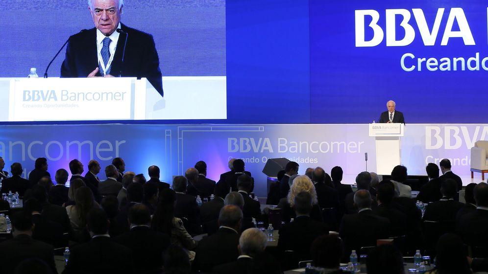 Foto: El presidente del Grupo BBVA, Francisco González.