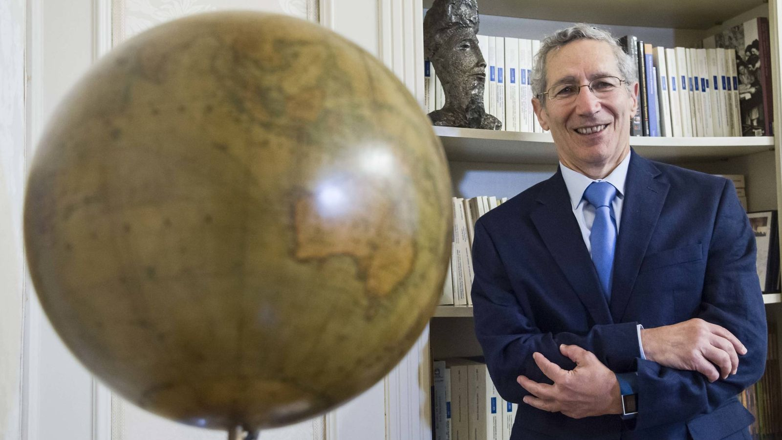 Foto: El profesor de Harvard Ariel Pakes, Premio Fronteras del Conocimiento de Economía. (Fundacion BBVA)