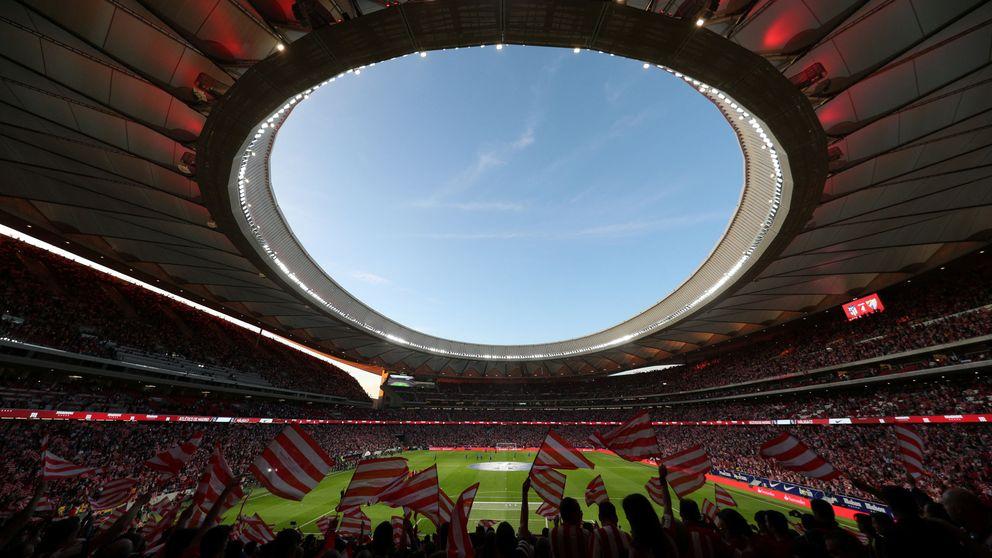 El Wanda, un estadio espectacular, acoge al Atlético: Es más que la Champions