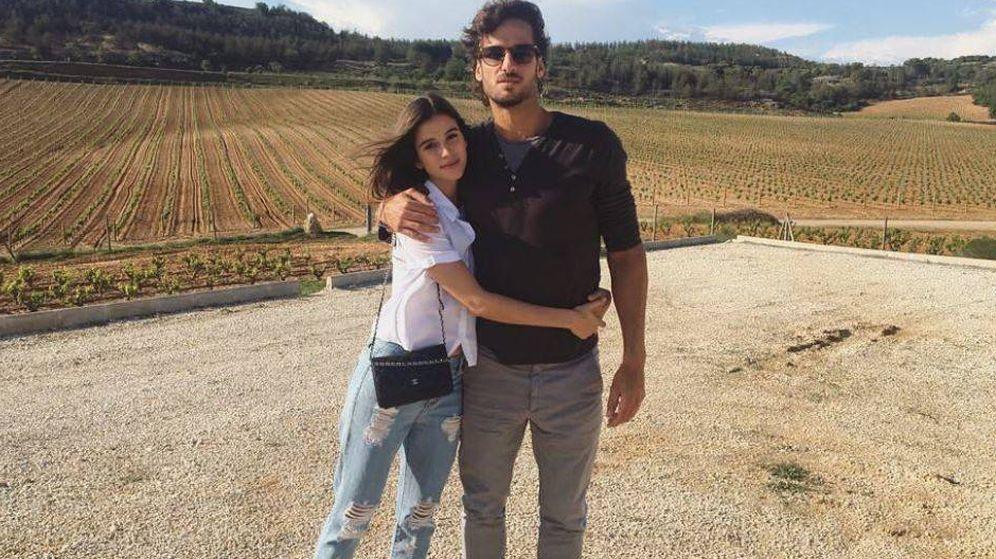 Foto: Feliciano López y Sandra Gago. (Instagram)