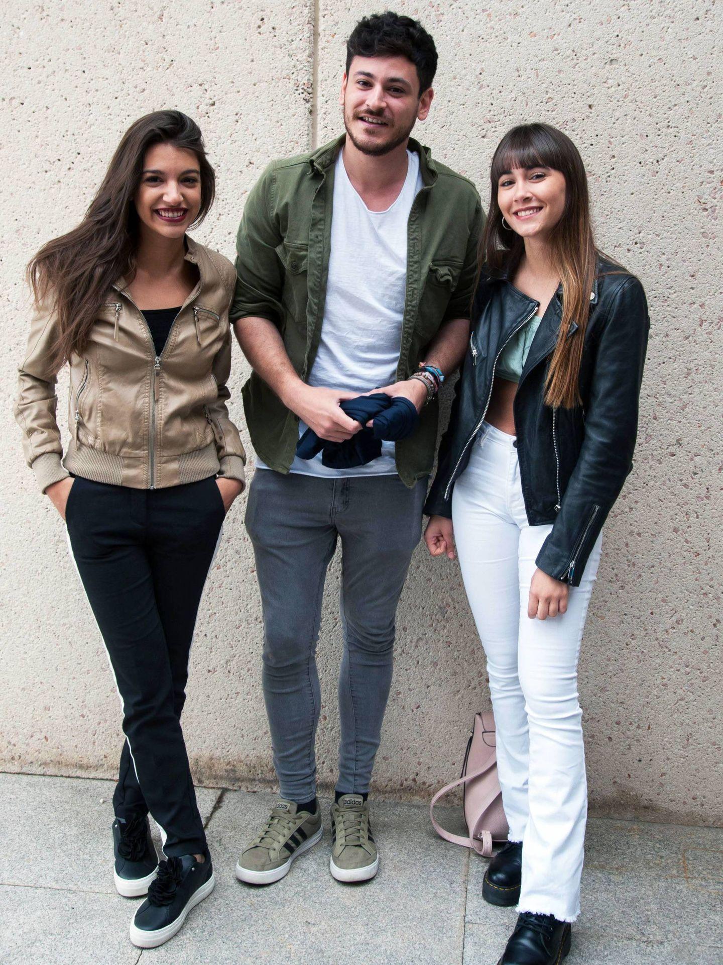 Ana Guerra, Cepeda y Aitana. (Cordon Press)