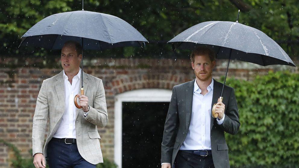 Enrique y Guillermo homenajean a Diana en Kensington Palace
