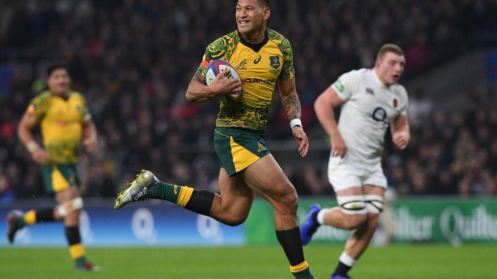 Israel Folau, la estrella homófoba de rugby que tiene a Australia en vilo