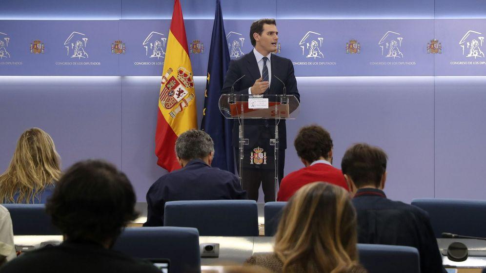 Foto: El líder de Ciudadanos, Albert Rivera, en el Congreso. (EFE)