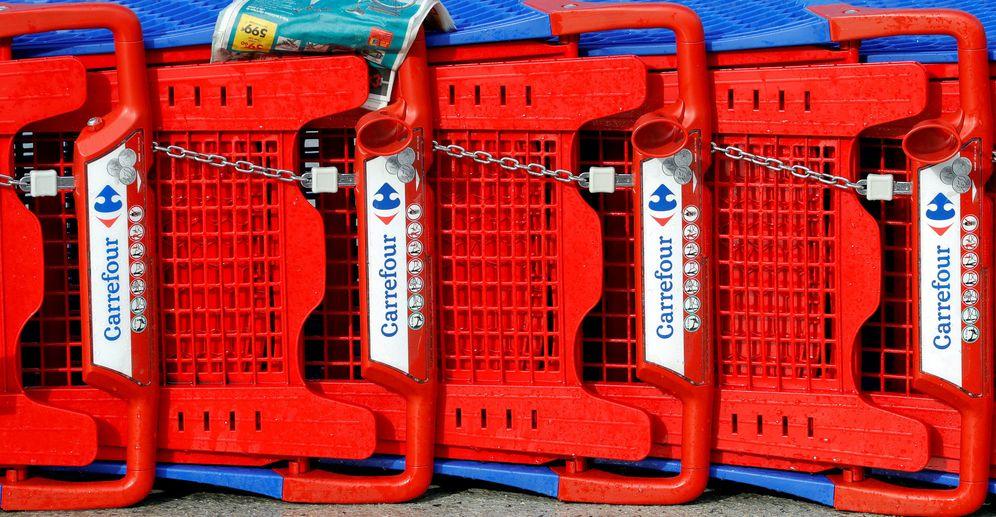 Foto: Carrefour 'esconde' las marcas de fabricante en cuatro tiendas francesas. (Reuters)
